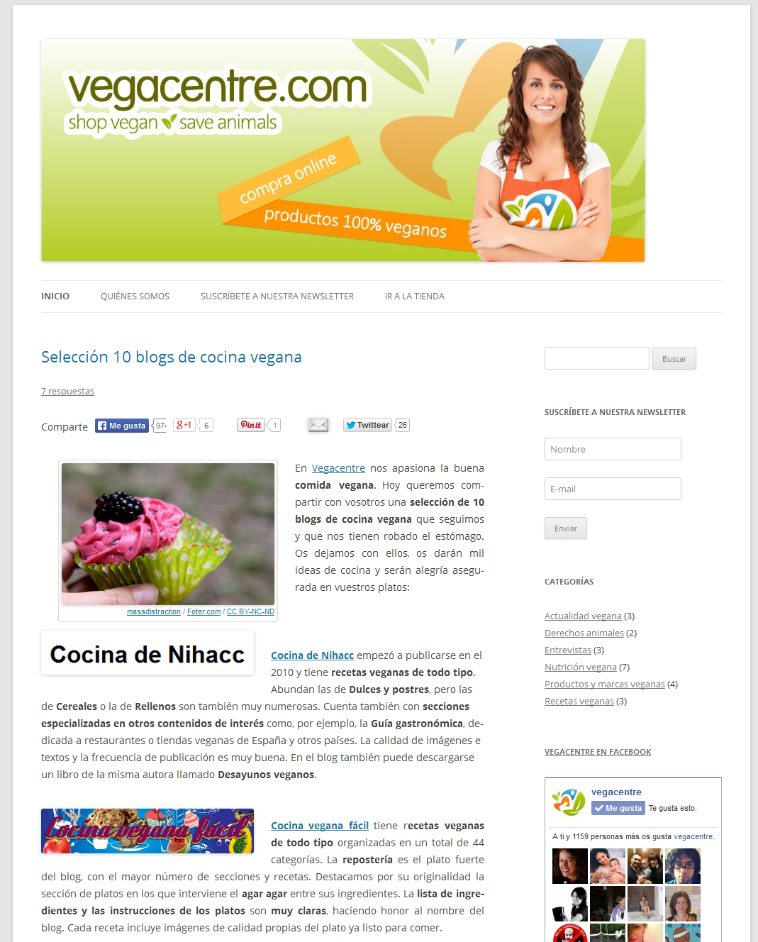 Blog Vegacentre